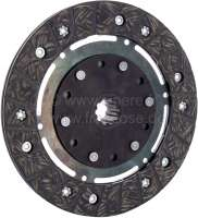 Clutch disk for 2CV, of year of construction 1952 to 1963. 10 teeth, inside diameters: 20/17mm. -1 - 10333 - Der Franzose
