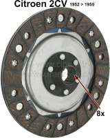Clutch+disk+for+2CV%2C+from+year+of+construction+1952+to+1955.+8+teeth.