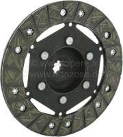 Clutch disk for 2CV, of year of construction 1955 to 1966. 10 teeth. Diameter: 160mm. Suitable for centrifugal clutch. -1 - 10328 - Der Franzose