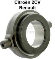 Clutch release sleeve 2CV old, AMI6, old version (thrust ring running in ball bearings), for use of a multi-disk! Also suitable for Renault R4, to year of construction 1970. Renault Dauphine, 4CV. Or.Nr.: AZ 314.01. - 10256 - Der Franzose