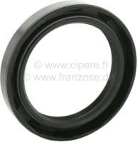 Shaft seal crankshaft rear, for Citroen 2CV4. Measurements: 48x65x10mm. Or.Nr.: A121-80 -1 - 10169 - Der Franzose
