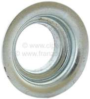 2CV6, centering plate for the valve spring. Suitable for Citroen 2CV6.  Or.Nr.AZ1241 -1 - 10510 - Der Franzose