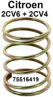 Valve push rod tube spring for Citroen 2CV4+6. Or.Nr.: 75516419 - 10114 - Der Franzose