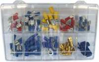 Cable connector set, 92 pieces. -1 - 20136 - Der Franzose