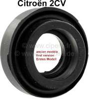 Valve push rod tube seal for 2CV (old version). Single seal, without bar in the center. You need 4 pieces per car. Manufacturer: Original Glaser, no reproduction. - 10285 - Der Franzose