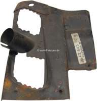 Engine cowling sheet metal on the right above. Suitable for Citroen 2CV4, starting from year of construction 04/1962. Original Citroen - 90875 - Der Franzose
