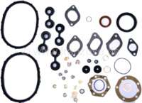 2CV4, 435ccm. Engine gasket set inclusive shaft seals and ventil stem sealing. Engine: A79/1 (AYA2). Piston diameter: 68,5mm. Suitable for Citroen 2CV4, AK250 + Dyane 4. Brand quality - 10655 - Der Franzose