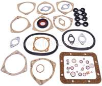 2CV, 425ccm, engine gasket set inclusive shaft seals. Bore 66mm. Installed from year of construction 1963 to 1979. Suitable for Citroen 2CV. - 10141 - Der Franzose