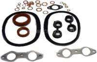 2CV, 425ccm, engine gasket set inclusive shaft seals. Bore 66mm. Installed from year of construction 1960 to 1963. Suitable for Citroen 2CV. - 10143 - Der Franzose