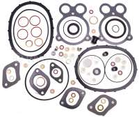 Visa 652, engine gasket set for Citroen Visa 2 liners. First version, without shaft seals. - 10075 - Der Franzose