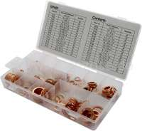 Copper sealing ring range. 150 fittings. | 20971 | Der Franzose - www.franzose.de