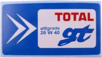 Label engine oil