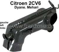 Heat exchanger on the left, for Citroen 2CV6. Reproduction. | 10192 | Der Franzose - www.franzose.de