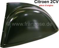 2CV, Fender at the rear left for Citroen 2CV. Manufacturer Citroen! Expensively, in addition, the best choice! - 15131 - Der Franzose