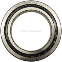 Radius arm bearing for Citroen 2CV. Good reproduction. The radius arm bearings are identically constructed over the total construction period (also for Dyane, AK, AMI). They fit for the front axle and for the rear axle. -1 - 12033 - Der Franzose