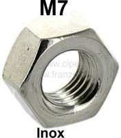Nut, high-grade steel, M7 - 21035 - Der Franzose
