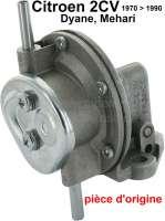 Gasoline pump for Citroen 2CV6, original manufacturer! The better choice. - 10172 - Der Franzose