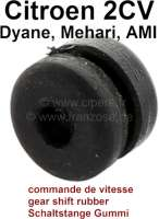Gear shift rubber sleeve, for Citroen 2CV, all models. - 16012 - Der Franzose