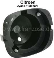 Headlight pot Dyane/Mehari,  made of plastic, fits left or right. - 14226 - Der Franzose