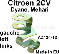 Clip+heater+cable+on+the+left%2C+securement+on+the+heat+exchanger.+%28narrow+clip%29.+Significant+reproduction+from+the+European+Union%2C+yellow+galvanizes.+Note%3A+The+clip+has+5%2C0mm+hole+%28new+version%29.+For+Citroen+2CV.+Or.Nr.+AZ124.12