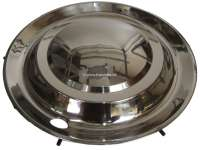 Wheel cover from high-grade steel, suitable for Citroen DS Non Pallas. 15 inch diameter. This wheel cover covers the total rim. | 33134 | Der Franzose - www.franzose.de
