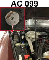 Identification plate color: AC099. Mounted in the engine compartment Citroen DS + 2CV - 37914 - Der Franzose