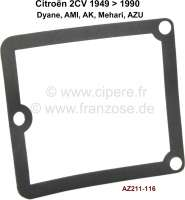 Contact housing seal cap for Citroen 2CV4+6. - 14323 - Der Franzose