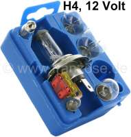 Box of spare bulbs H4, 12 Volt - 14042 - Der Franzose