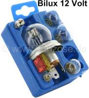 Box of spare bulbs two-filament, 12 Volt, should always be in your car ! - 14041 - Der Franzose
