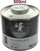 Harder for lacquers, 500ml for painting pistol + clear lacquer