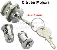 Mehari, lockcylinder set (door locks) Citroen Mehari. - 16373 - Der Franzose