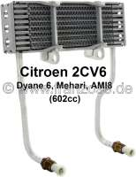 Oil+cooler.+Suitable+for+Citroen+2CV6%2C+Dyane+6%2C+ACDY%2C+Mehari.+For+engines+with+602cc.+Reproduction