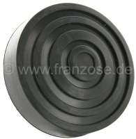 Pedal rubber approximately, for Citroen 2CV with standing pedals. (55mm mounting) - 18085 - Der Franzose