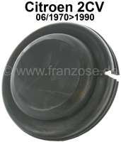 Cap for the radius arm bearing rear (for vehicles with a brake line spiral in the rear axle). Suitable for Citroen 2CV, Dyane, AK, AMI, starting from year of construction 06/1970. - 12285 - Der Franzose