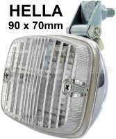 Reversing lamp, manufacturer Hella. Chromed metal housing. Universal fitting. | 14027 | Der Franzose - www.franzose.de