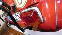 Spacer tail lamp at the rear left. Citroen 2CV. Color grey. Or. No.AZ544184 -1 - 14073 - Der Franzose