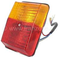 Tail lamp completely. Suitable for Citroen ACDY (Acadiane) + Peugeot 504 Pick UP + Peugeot J7. - 14082 - Der Franzose