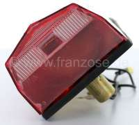 Tail lamp for Citroen Dyane, completely with license plate light. Reproduction, without E-Marks! -1 - 14370 - Der Franzose