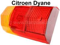 Taillight cap, suitable for Citroen Dyane. Fitting on the left of or on the right, without lens for the registration plate light. - 14061 - Der Franzose