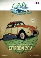 2CV catalog 2017. French! 398 pages! Complete catalog Cipere with illustrations and prices (zzgl. dispatch) | 91059 | Der Franzose - www.franzose.de