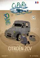 2CV catalog 2018. French! 398 pages! Complete catalog Cipere with illustrations and prices (zzgl. dispatch) | 91059 | Der Franzose - www.franzose.de