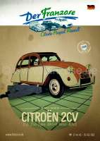 German Catalogue 2CV 2017, 398 pages | 90804 | Der Franzose - www.franzose.de