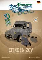German Catalogue 2CV 2018, 398 pages | 90804 | Der Franzose - www.franzose.de