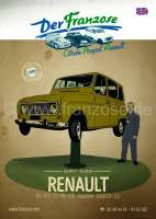 Renault catalog 2017 in English. Complete catalog Der Franzose, with illustrations and prices. 360 pages!   89991   Der Franzose - www.franzose.de