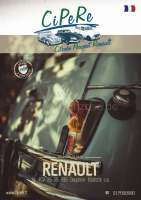 Renault catalog 2020, 320 pages, French. Complete catalog