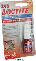 LOCTITE 243, liquid screw protection, middle sttrong, indispensable for all car work - 20026 - Der Franzose