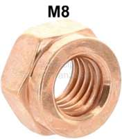 M8, copper nut M8, for 13mm tool. Universal suitable e.g. for exhausts + exhaust manifolds. - 60129 - Der Franzose