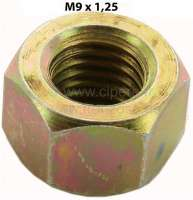 M9, nut M9x1,25. For example mounting drive shaft at the gearbox for 2CV. Amount: 9mm. - 12123 - Der Franzose