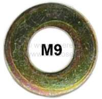 M9, washer. Dimension: 9.2 x 20 x 1,2mm. | 12386 | Der Franzose - www.franzose.de