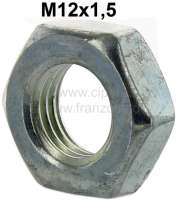 Nut M12x1,5. Flat design. For fastening brake hoses. - 21037 - Der Franzose